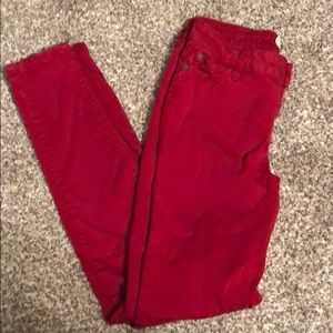 Altar'd state red jeggings